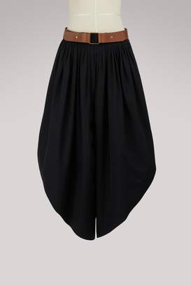Chloe Belted culottes