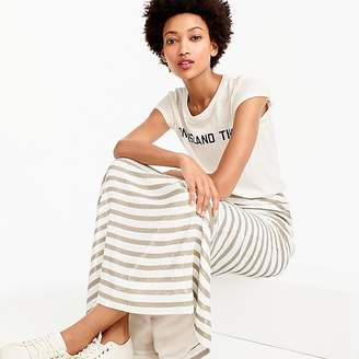 J.Crew Collection stripe sequin maxi skirt