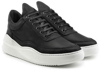 Filling Pieces Fundament Leather Sneakers