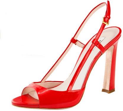 Miu Miu Patent Sandal