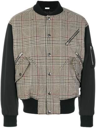 Stella McCartney dogtooth bomber jacket