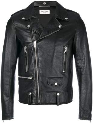 Saint Laurent Blood Luster motorcycle jacket