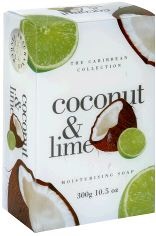 The International Toiletry Company Moisturizing Soap, Coconut & Lime