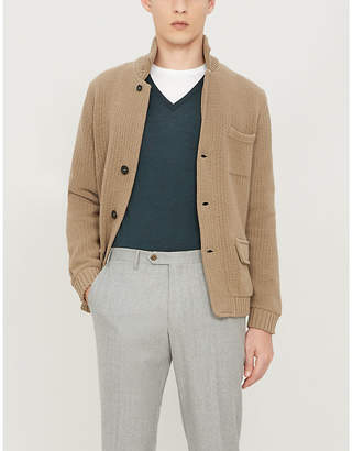John Smedley Blenheim V-neck wool jumper