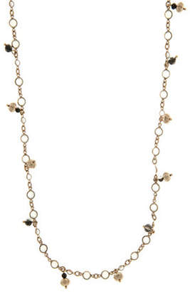 Marchesa Long Shaky Strand Necklace