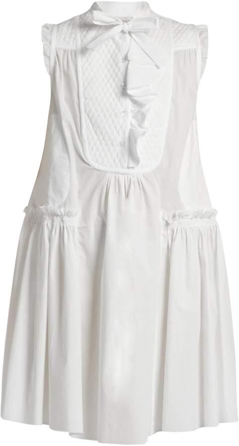 MonclerMONCLER Sleeveless cotton-poplin dress