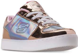 Skechers Girls' S Lights: Energy Lights Shiny Sneaks Light-Up Athletic Sneakers from Finish Line