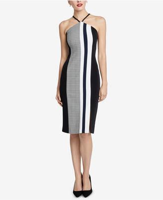 Rachel Roy Hailey Colorblocked Sleeveless Dress
