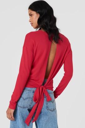 NA-KD Na Kd Tied Back Detail Sweater Black