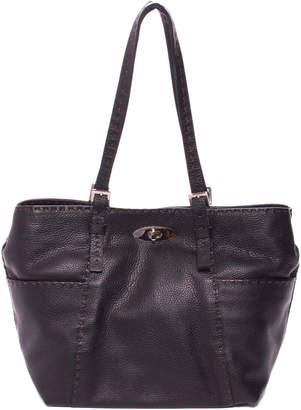 Carla Mancini Abigael Leather Small Shopper