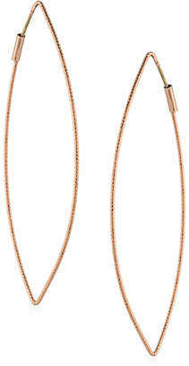 ABS by Allen Schwartz Ellipse Hoop Earrings