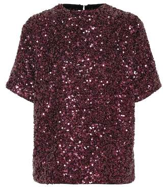 Victoria Beckham Victoria Sequined top