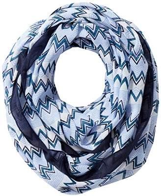 Pieces Women s Pctricana Tube Scarf Pb, Multicolour Maritime Blue 9f398e0bc35