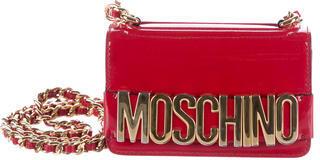 MoschinoMoschino Patent Logo Crossbody
