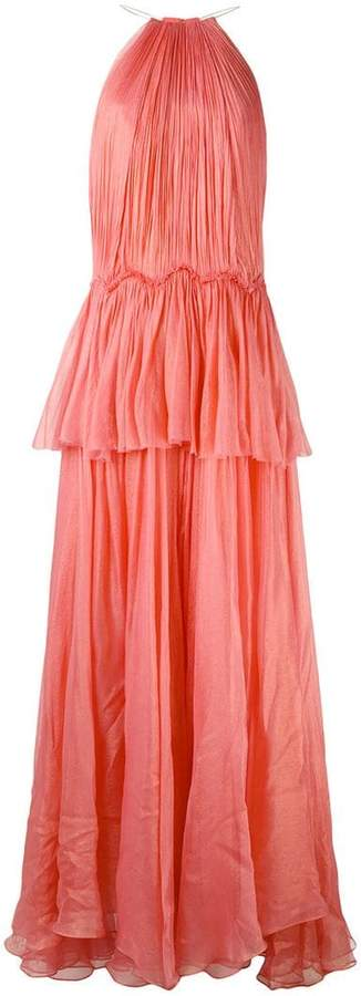 Maria Lucia Hohan tiered panel gown