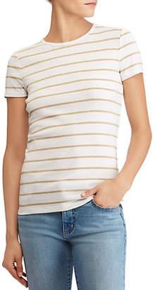 Lauren Ralph Lauren Short-Sleeve Striped Tee