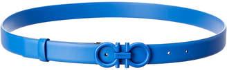 Salvatore Ferragamo Adjustable & Reversible Gancini Belt