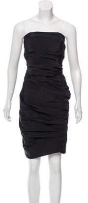 La Petite S***** Strapless Mini Dress Black Strapless Mini Dress