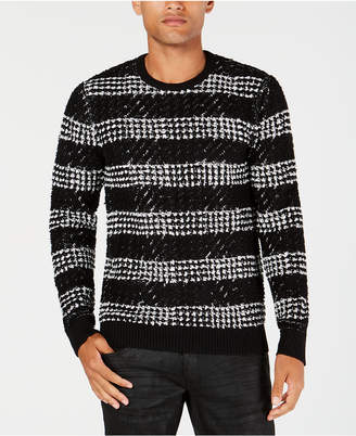 INC International Concepts I.n.c. Men's Chunky Striped Sweater, Created for Macy's