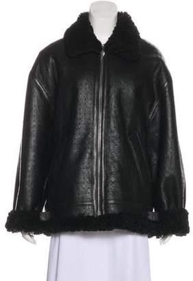 Vetements 2018 Shearling Jacket w/ Tags