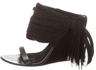 Alexander WangAlexander Wang Slide Wedge Sandals