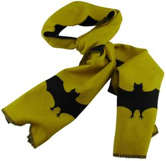 Gucci Yellow Wool Scarves & pocket squares