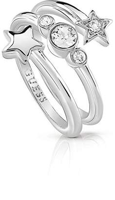 GUESS Women Silver Ring - Size N 1/2 UBR84002-54