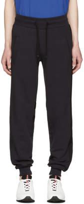 HUGO Navy Tape Detail Lounge Pants