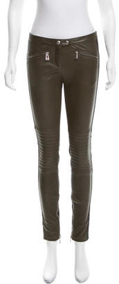 Belstaff Greenwich Leather Pants $445 thestylecure.com