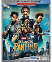 Disney Black Panther Blu-ray Combo Pack Multi-Screen Edition with FREE Lithograph Set Offer - Pre-Order