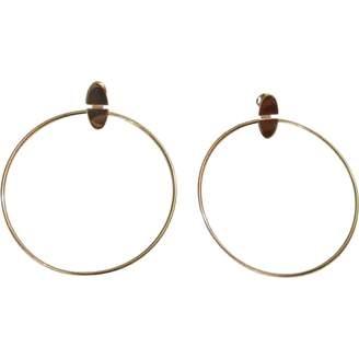 Hermes Chaîne d'Ancre silver earrings