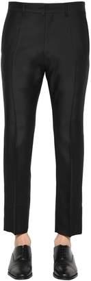 DSQUARED2 19.5cm Run Dan Wool Silk Pants