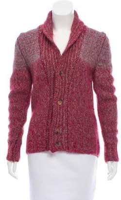 Etro Wool & Cashmere-Blend Cardigan