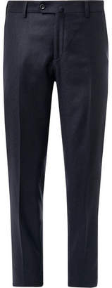 Loro Piana Slim-Fit Cashmere Trousers - Men - Navy