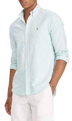 Polo Ralph Lauren Classic-Fit Gingham Cotton Button-Down Shirt