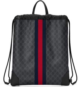 Gucci Soft GG Supreme drawstring backpack