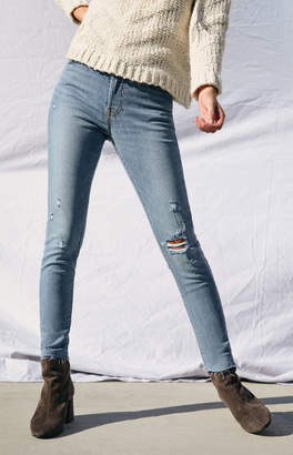 Levi's Blue Spice Wedgie Skinny Jeans