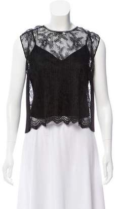 Alexander Wang Sleeveless Lace Top w/ Tags