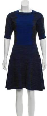 Kenzo Knee-Length Fit and Flare Dress