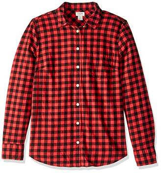 J.Crew Mercantile Women's Long-Sleeve Flannel Shirt