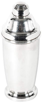 One Kings Lane Vintage English Silver-Plated Cocktail Shaker - La Maison Supreme