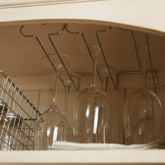 Symple Stuff Kerfoot Triple Hanging Wine Glass Rack