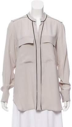Belstaff Long Sleeve Button-Up Blouse