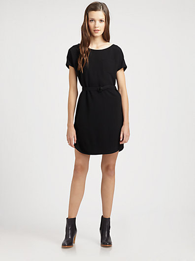 A.P.C. Belted Knit Dress