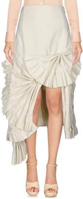 Jacquemus Knee length skirts