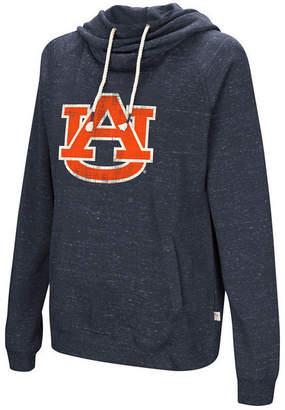 Colosseum Women Auburn Tigers Speckled Fleece Hooded Sweatshirt