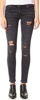 True Religion Casey Skinny Jeans $229 thestylecure.com