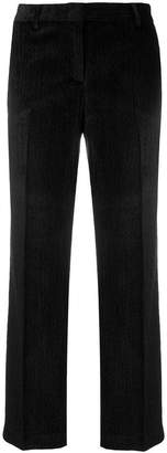 Tonello cropped velvet trousers