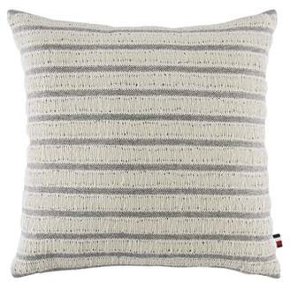 Tommy Hilfiger Oak Bluff Paisley Fisherman's Stripe Cotton Throw Pillow