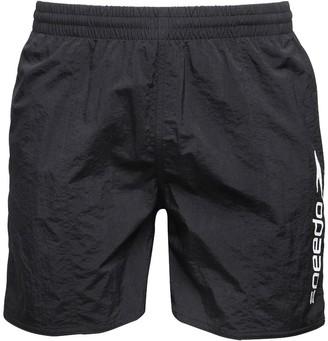 """Speedo Mens Scope 16"""" Water Shorts Black"""